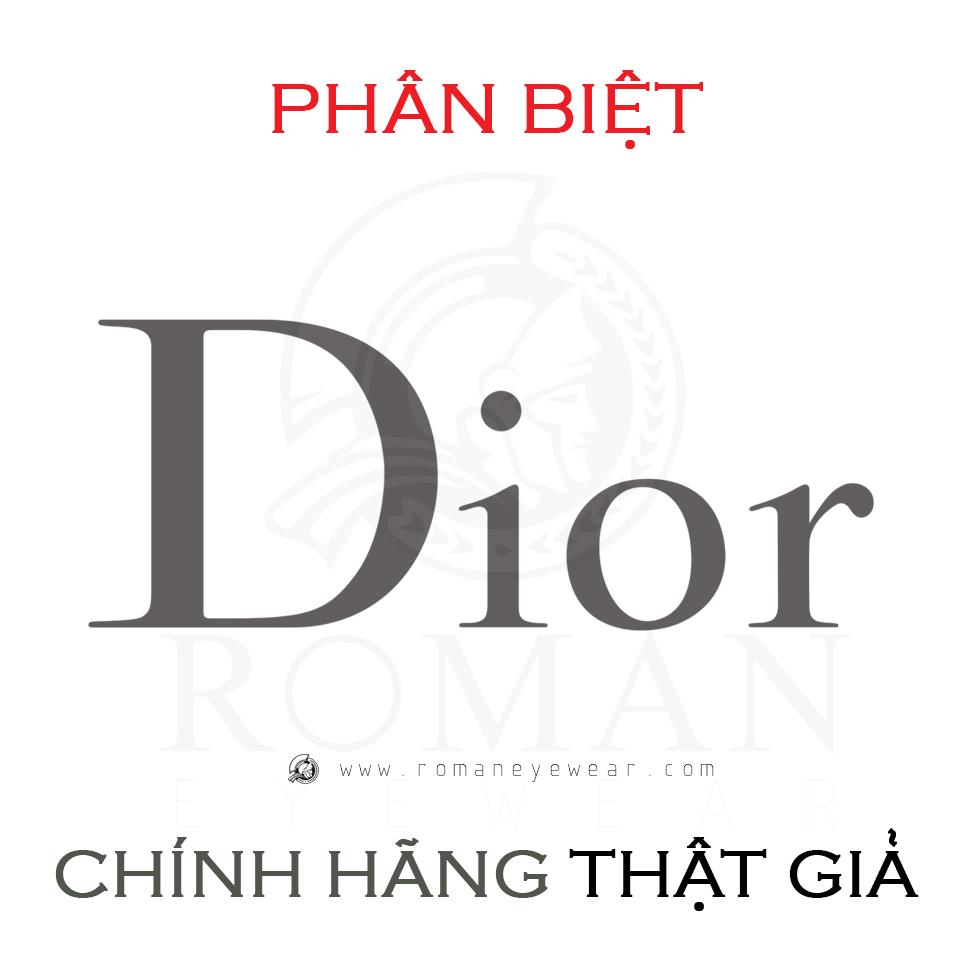 9 bước đơn giản sau để xác thực nguồn gốc kính Dior